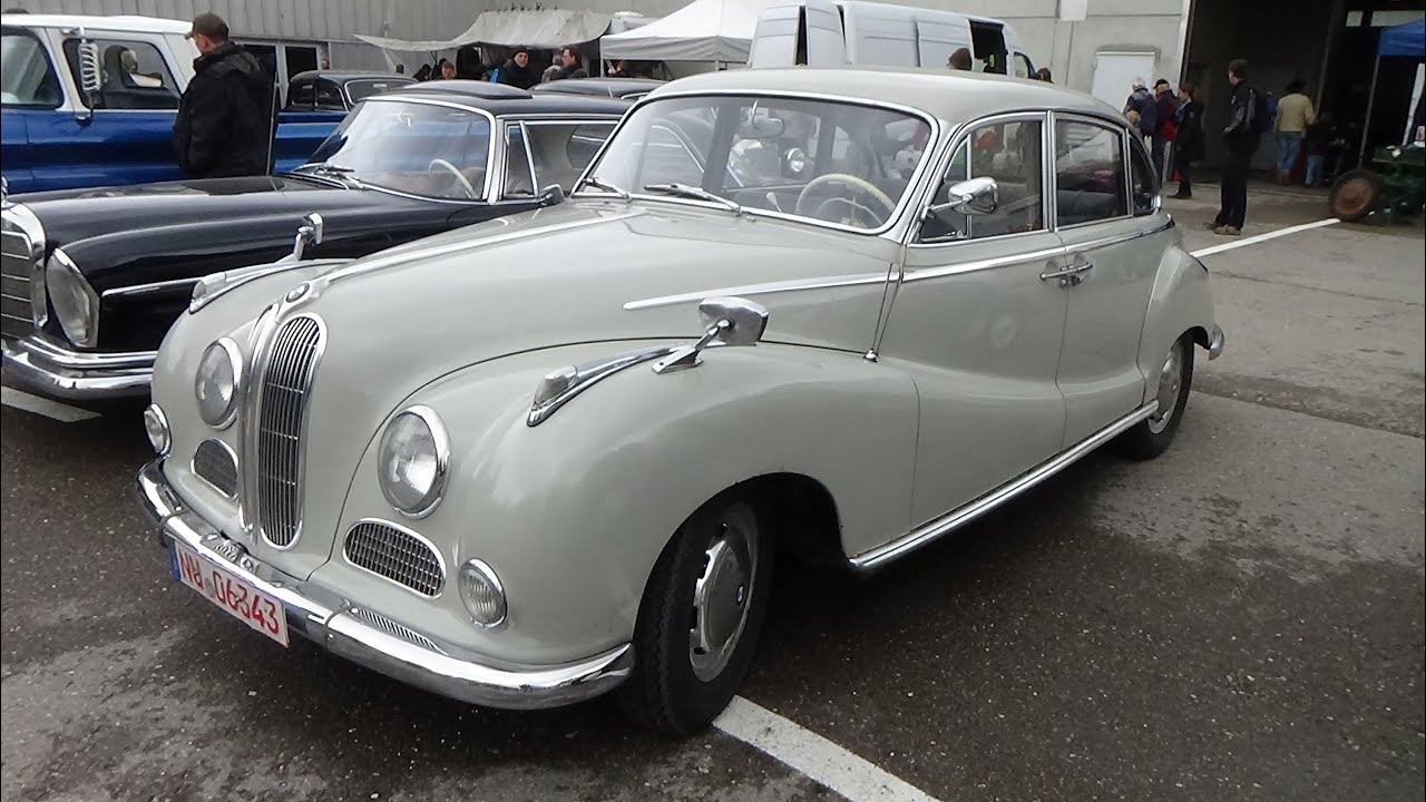1952-1964, BMW V8, Exterior and Interior, Technorama Ulm 2015 - YouTube