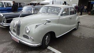 1952-1964, BMW V8, Exterior and Interior, Technorama Ulm 2015