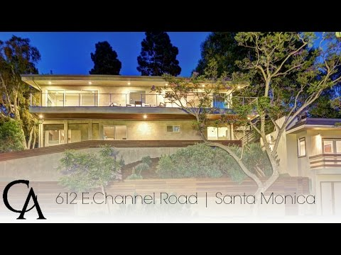 Home for sale in Santa Monica Canyon | 612 E Channel Road
