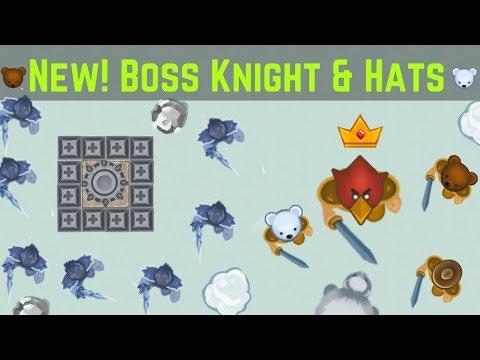 New! Boss Knight, Hats added and more! | Raiding Boss Base - glor.io