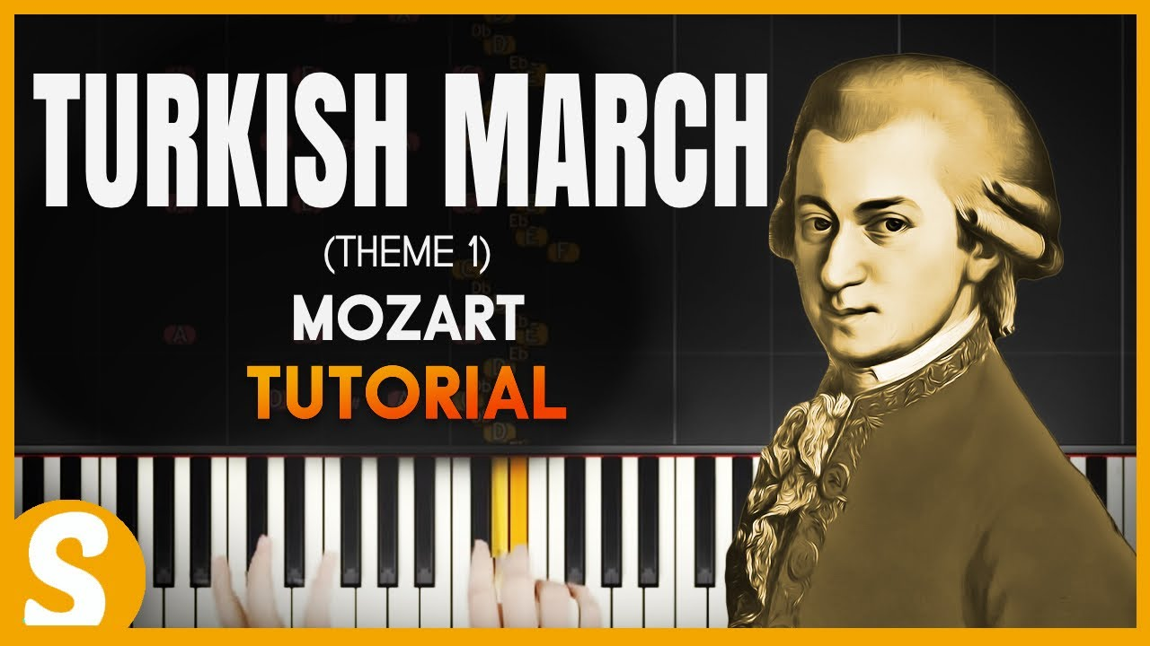 how to play mozart turkish march on piano