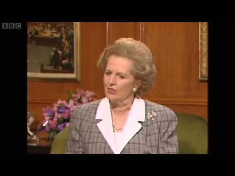 Margaret Thatcher's Definition of Thatcherism