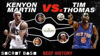 Kenyon Martin's beef with Tim Thomas includes 50 Cent, cash-slapping, and a kid's birthday party