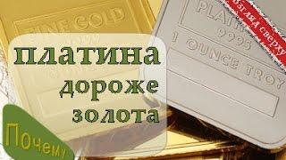 видео Драгоценные металлы: курс золота, серебра, платины и палладия