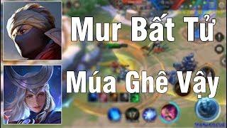 Mạnh Blue Cầm Murad Bất Tử Khiến AD Team Bạn Phải Khóc Thét