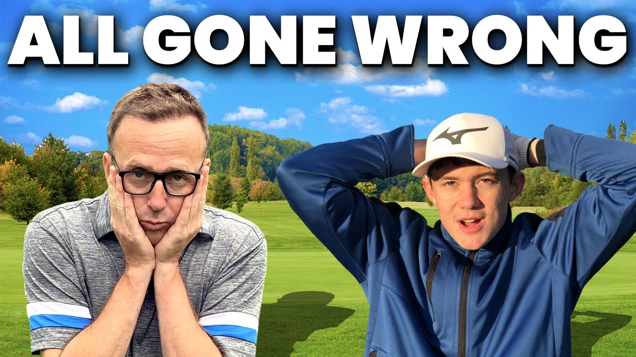 THIS WAS NOT SUPPOSED TO HAPPEN - GOLF MATCH WAS ALL GOING WELL!
