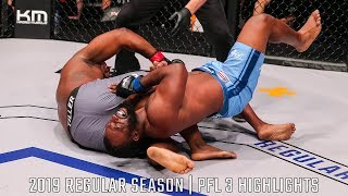 Kelvin Tiller Locks Up A Vicious Kimura | PFL 3 2019 Full Fight Highlights