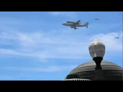 Space Shuttle Endeavour Arrives in Los Angeles County