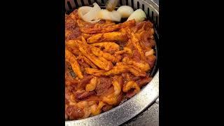 생오리 구이 탕