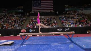Rebecca Bross - Balance Beam - 2010 Tyson American Cup