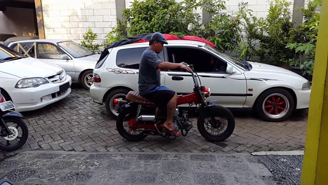 Honda Monkey Hasil Perkawinan 2 Motor YouTube