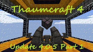 A Guide To Thaucmraft 4 - Part 46 - Void Jar and Filtered Essentia Tubes (4.0.5 Update)