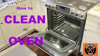 How to Clean an Oven -- by Home Repair Tutor