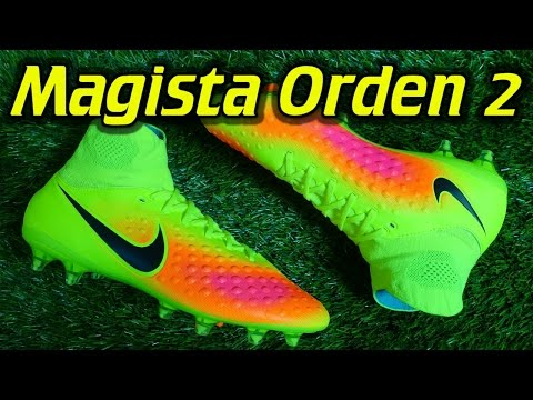 64624b14d02a5 Nike Magista Orden 2 (Volt/Total Orange/Black) - Review + On Feet - YouTube