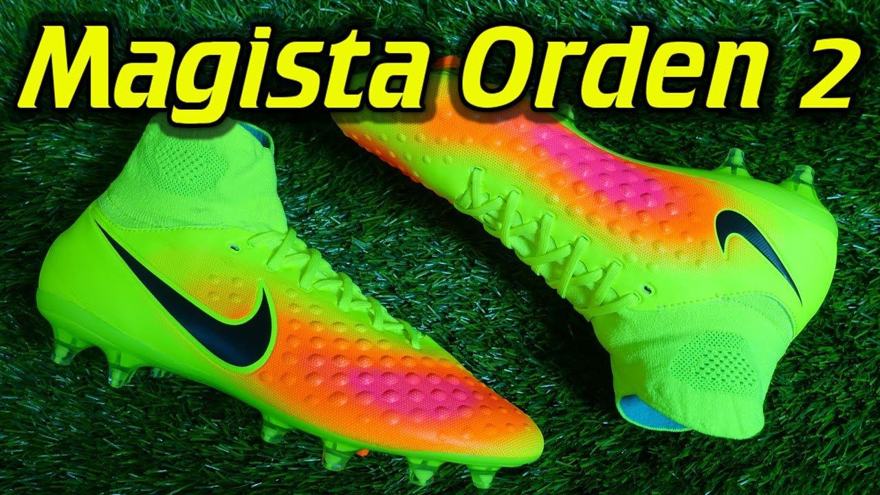 e5773cbe6fc2 Nike Magista Orden 2 (Volt/Total Orange/Black) - Review + On Feet - YouTube