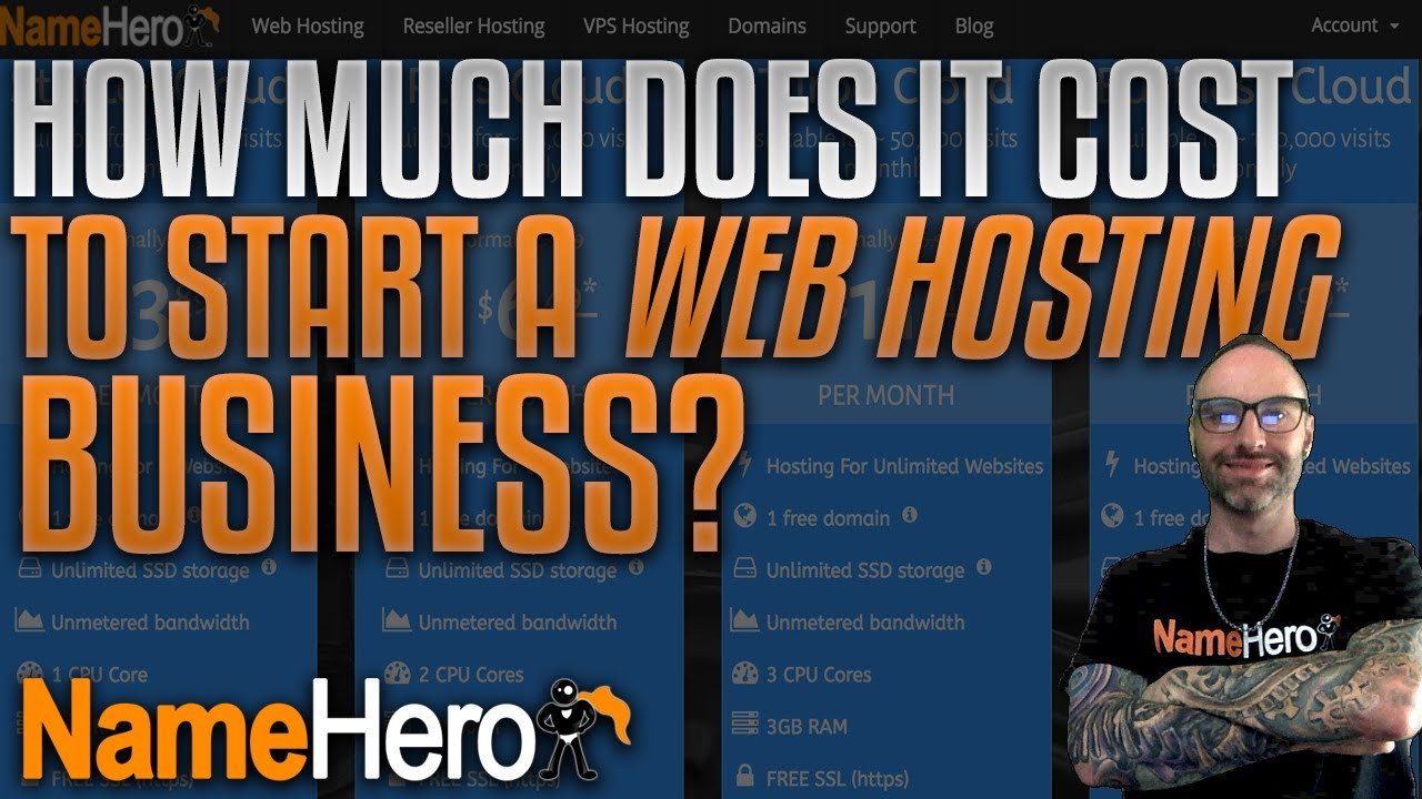 How Much Does It Cost To Start A Web Hosting Business?