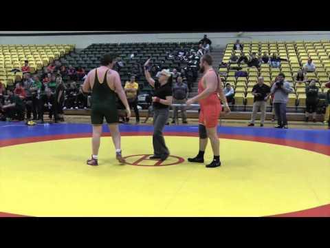 2016 Golden Bear Open: 120 kg John Jacobs vs. Parker Florell