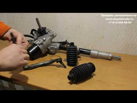 Восстановленная рулевая рейка Honda Civic 4D   Разбор и осмотр