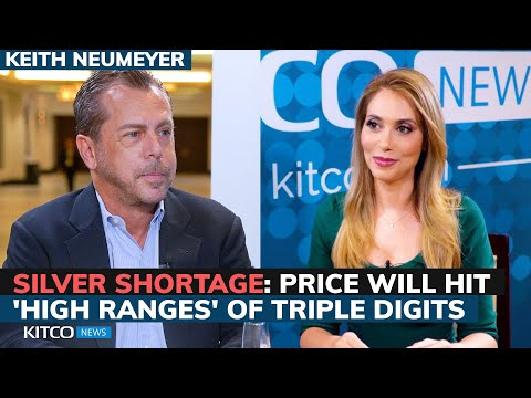 Silver price to hit 'high ranges' of triple digits; Not enough on planet to meet demand - Neumeyer