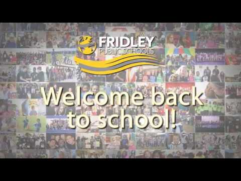 Welcome Back to Fridley Public Schools!
