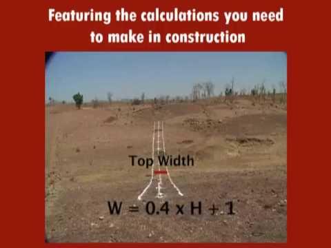 earth dam construction process