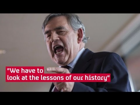 Gordon Brown speaks out on Labour leadership - in full