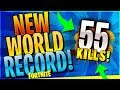 Download NEW WORLD RECORD 55 KILL WIN! (Fortnite Battle Royale)