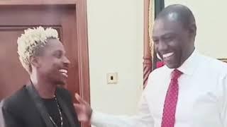 Erick Omondi anaulizwa mbona amekonda na  Dp William Ruto