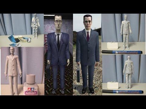 G-Man (Half-Life) PETG 3D Printed Figure