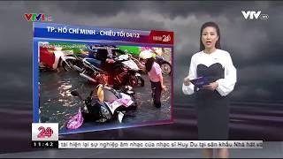 Hôm nay triều cường tại thành phố Hồ Chí Minh sẽ đạt đỉnh của cả đợt này| VTV24