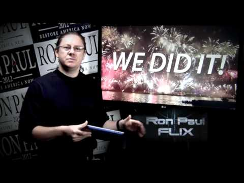 Ron Paul FLIX Daily News - May 3 2012 - Ron Paul Is On The Ballot (5 State Delegations WON!!)