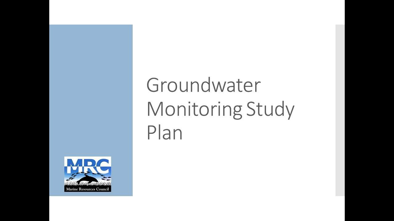 Groundwater Research from Brevard County