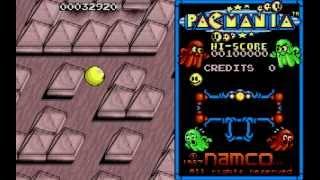 Pacmania - Atari ST [Longplay]