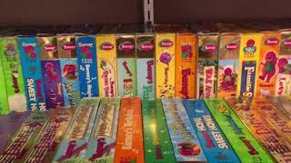 Video My Barney VHS/DVD Collection Part 1 download MP3, 3GP, MP4, WEBM, AVI, FLV Juli 2018