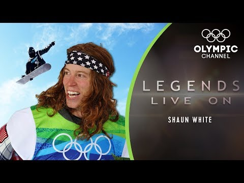 The guy who set the standard in Snowboarding: Shaun White | Legends Live On