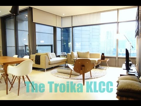 The Troika KLCC Luxury Condominium for Rent