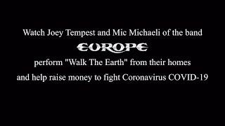 Europe - Walk The Earth (Joey & Mic Acoustic)