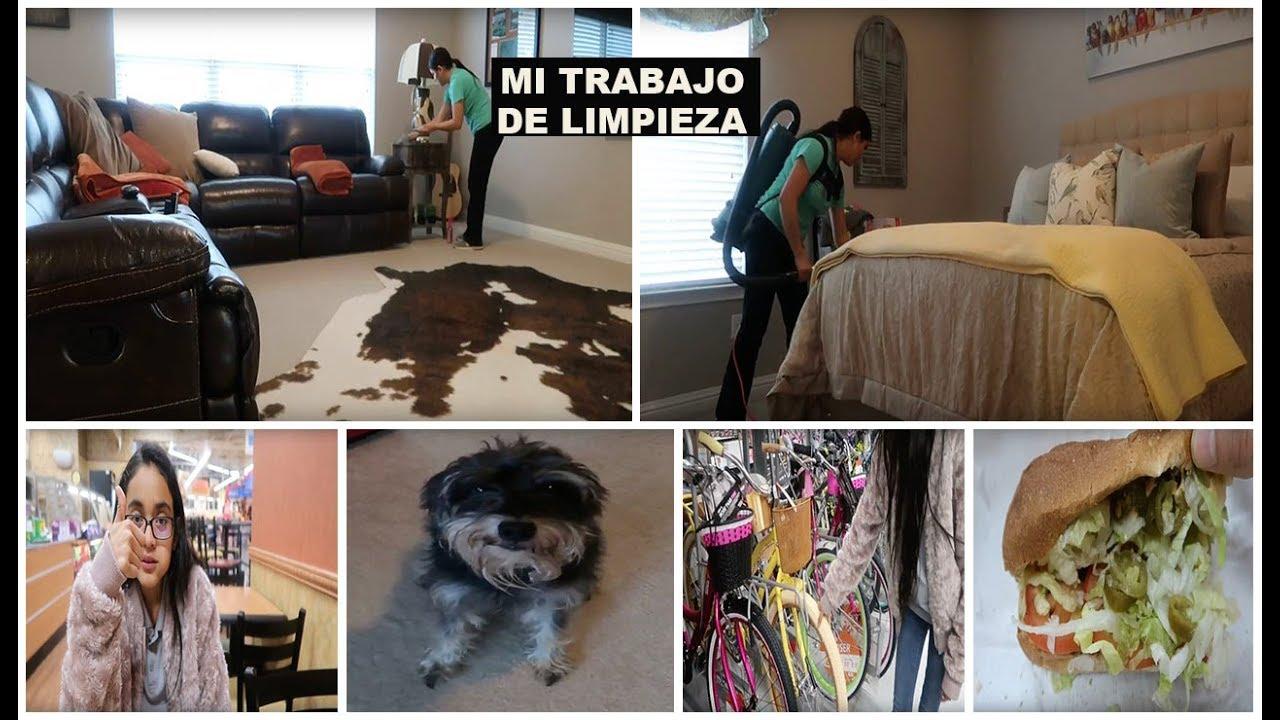 Limpiando casas, Mama ocupada, y compras en Walmart!!! - YouTube