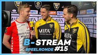 B-STREAM I SPEELRONDE 15 I eDivisie 2019-2020 FIFA20