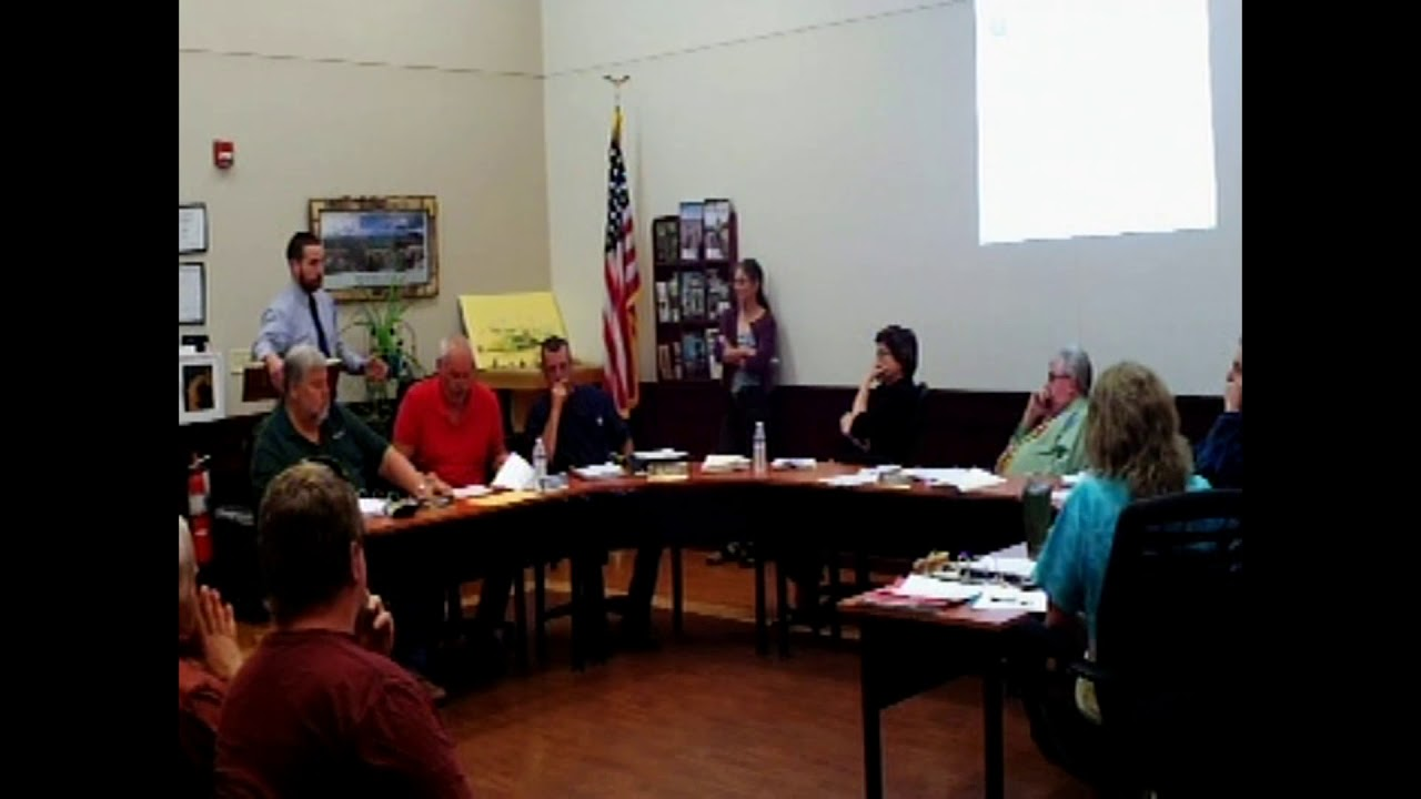 Dannemora Town Board Meeting  6-27-18