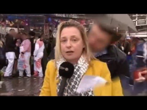 In Cologne, reporter groped while covering Carnival on live