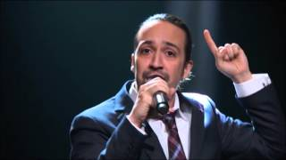 Lin Manuel Miranda sings for Puerto Rico on Last Week Tonight