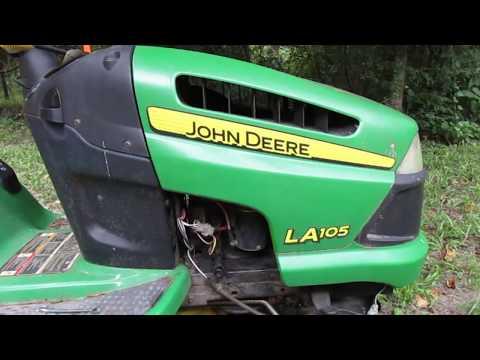 John Deere LA 105 Starter Replacement, Including Part Numbers. EBay Price.