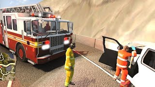 Flashing Lights - Firefighter Simulator 2018 Gameplay! 4K