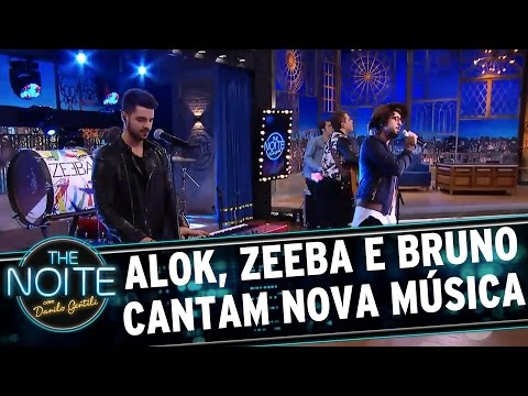 Exclusivo: Alok, Zeeba e Bruno cantam