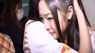 石田安奈 「泣かなかったのに~」:なでなで珠理奈.