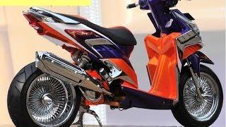 Motor Trend Modifikasi | Video Modifikasi Motor Honda Vario Lowrider Terbaru Part 5