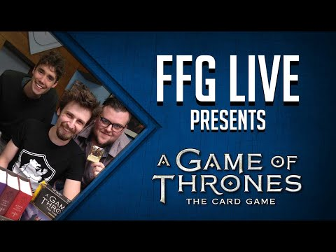 A Game Of Thrones LCG Fury Of The Storm Gameplay