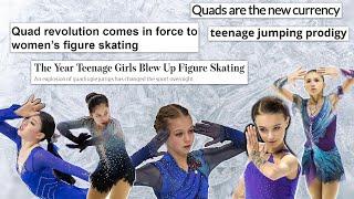 Quads in Ladies Skating 2019 20 Season Update