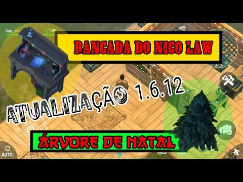 ATUALIZAÇÃO 1.6.12 NATAL / LAST DAY ON EARTH / ÁRVORE DE NATAL / BANCADA DO NICO LAW